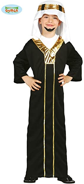 Disfraz de jeque árabe para niño - 5-6 años: Amazon.es: Ropa y ...
