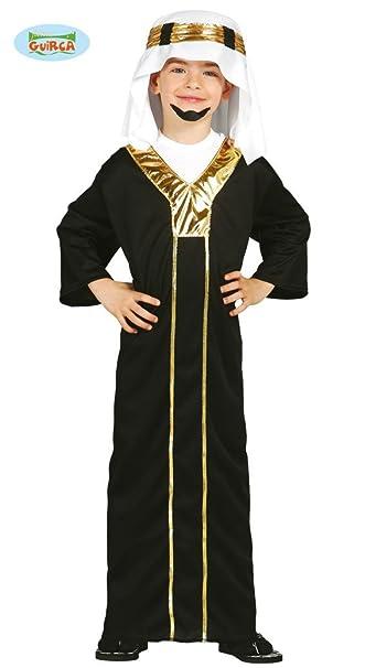 Disfraz de jeque árabe para niño - 5-6 años: Amazon.es: Ropa ...