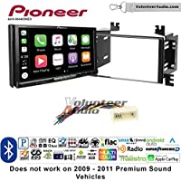 Volunteer Audio Pioneer AVH-W4400NEX Double Din Radio Install Kit with Wireless Apple CarPlay, Android Auto, Bluetooth Fits 2006-2008 Kia Accent, 2006-2011 Rio