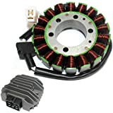 ZOOM ZOOM PARTS STATOR & REGULATOR RECTIFIER FOR YAMAHA R6 YZFR6 YZF-R6 YZFR600 1999 2000 2001 2002