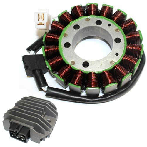 ZOOM ZOOM PARTS STATOR & REGULATOR RECTIFIER FOR YAMAHA R6 YZFR6 YZF-R6 YZFR600 1999 2000 2001 2002 FREE FEDEX 2 DAY SHIPPING
