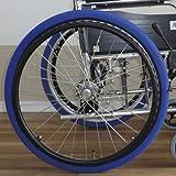 あい・あ~る・けあ 後輪用ホイルソックス 赤 中(L) 幅:8.5cm (適応車輪サイズ:20~22inch) 車いす 車輪用靴下 洗濯ネット使用