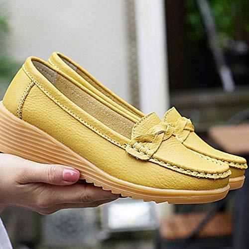 Franges Et Respirantes Plates Femmes À Chaussures Avec Kurphy Ultralégères Antidérapante aller Semelle Pour Tout Mère T8BHtqxw