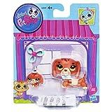 Littlest Pet Shop Figures Dachshund and Baby Dachshund