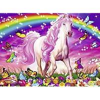 Ravensburger Horse Dreams - Rompecabezas con brillo de 100 piezas para niños - Cada pieza es única, las piezas encajan perfectamente