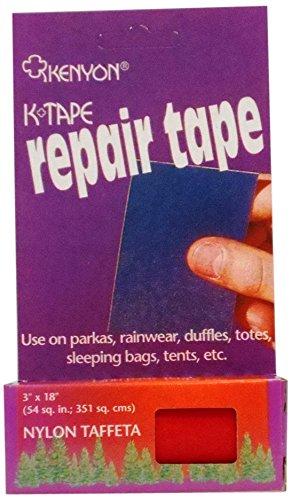 KENYON Taffeta Pressure Sensitive Repair Tape, Red