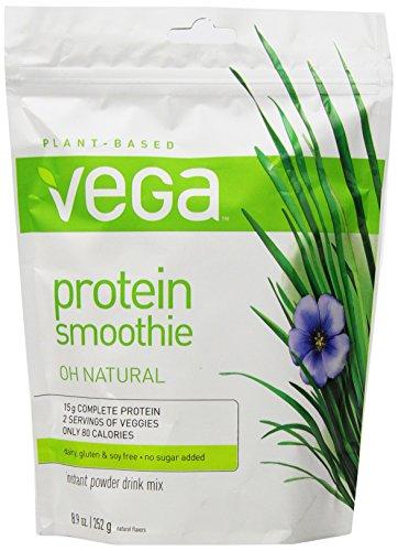 Vega Protein Smoothie, Natural, Pouch, 8.9 oz