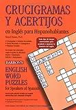 Crucigramas y Acertijos en Inglis para Hispanohablantes, Marcel Danesi, 0764132652