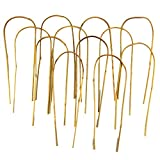 16 in. Bamboo U Trellis Stakes (10 Pack) For Sale