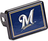 Stockdale Milwaukee Brewers Universal Hitch Cover Color Bumper Trailer Auto Cap Baseball