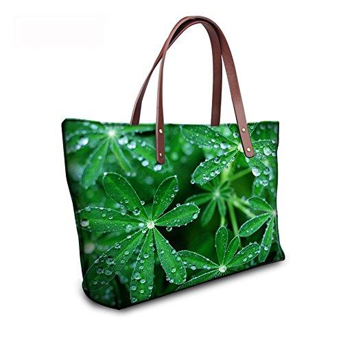 FancyPrint C8wc0795al Handbags Satchel Print Tote Women Bages Handle Animals Top AwrOHAZqW
