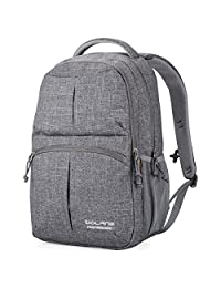 Water Resistant School Backpack Bolang College Bags For Casual Travel Business 8459 (Grey)