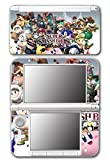 Super Smash Bros Brawl Melee Kirty Meta Knight Wario Sonic Mario Ice Climbers Marth Roy Pit Link Zelda Samus Video Game Vinyl Decal Skin Sticker Cover for Original Nintendo 3DS XL System