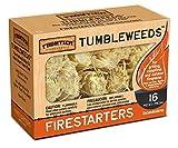 Frontier Tumbleweeds Natural Firestarters - 1 box of 16