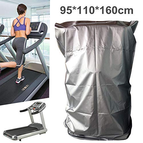 dDanke Treadmill Cover, Sports Running Machine Protective Folding Cover with Zipper Dustproof Waterproof Indoor/Outdoor Cover, Oxford Cloth, 37.40''x43.31''x62.99'' by dDanke