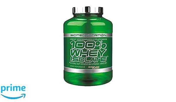 100% Whey Isolate 4,40lb (2000g) Fresa: Amazon.es: Salud y cuidado personal