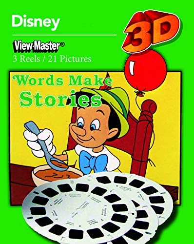 ViewMaster Disney Learning No. 4 - Words Make Stories - 3 Reel Set by View Master (Image #1)
