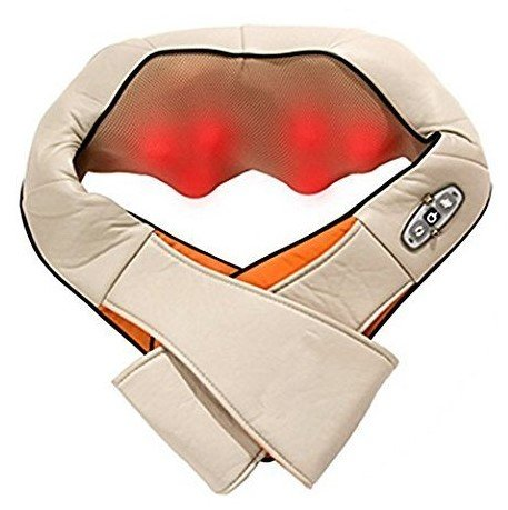 Shoulder Back Massager Waist Body Massager Shiatsu Neck Massager Heat Therapy For Muscle Pain and Tightness