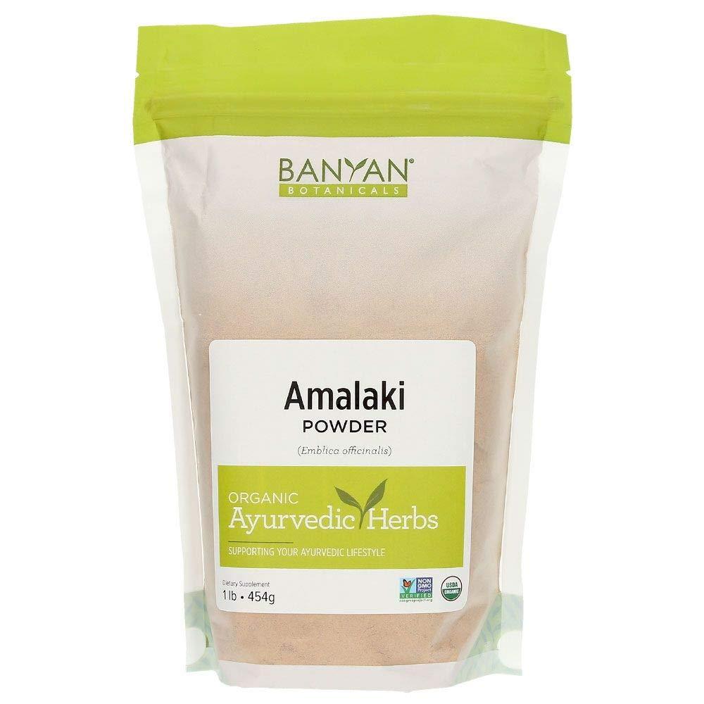 Banyan Botanicals Amalaki (Amla) Powder, 1 Pound - USDA Organic - Emblica officinalis - Ayurvedic Antioxidant for Hair, Skin, Digestion* by Banyan Botanicals
