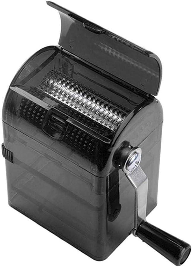Root of all evil Diseño Simple máquina de Cigarrillos con manivela Manual trituradora de Especias Duradera