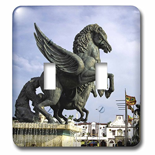 Danita Delimont - statues - Equine sculptures link Getsemani with El Centro districts, Colombia. - Light Switch Covers - double toggle switch - Outlets El Centro