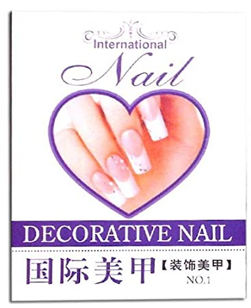 Amazon Full Color Nail Art Decorative Nail Design Book 1000