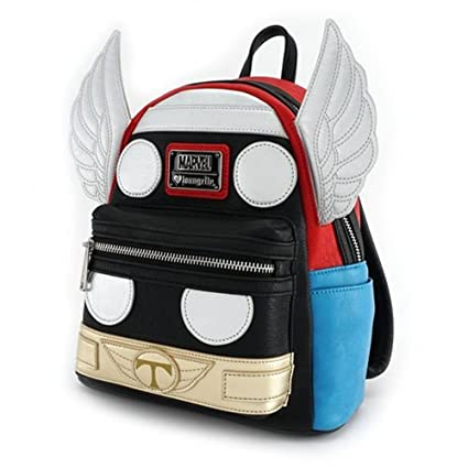 Amazon.com  Loungefly X Marvel THOR RAGNAROK Mini Backpack  Sports    Outdoors 72e0e6fbea59b