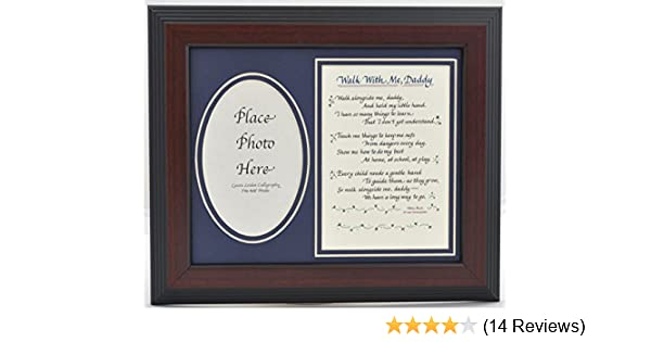 Amazoncom All Things For Mom Walk With Me Daddy Picture Frame