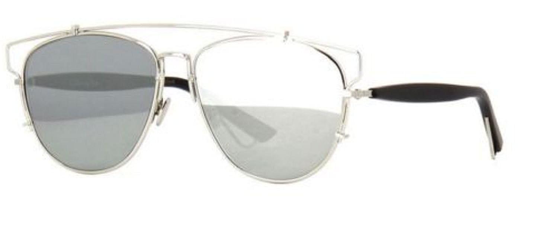 b8c1b2728fc Amazon.com  New Christian Dior TECHNOLOGIC 84J 0T Sunglasses  Palladium Silver Sunglasses  Clothing
