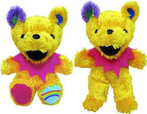 Grateful Dead Bear editions 16 Mellow Yellow [mellow yellow] birthday 1976/8/2 (Mellow Bear)