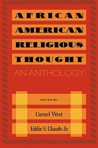 Search : African American Religious Thought: An Anthology