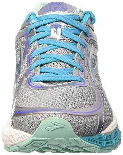 Gts Chaussures Bluebird Multicolores L'adrénaline argent Femmes Course Des 16 Teinte De Brooks Bleue w4dT1CC
