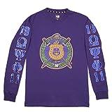 omega psi phi kids - Big Boy Headgear Omega Psi Phi Fraternity Mens Long Sleeve Tee 2XL Purple