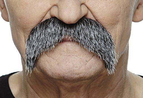 Walrus salt and pepper mustache (Quality Fake Moustache)