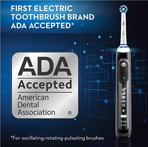 Oral-B Genius Pro 8000 Electronic Power Rechargeable Battery Electric Toothbrush with Bluetooth Connectivity Powered by Braun by Oral B (Image #13)