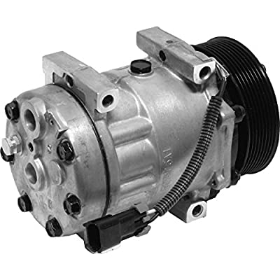 Sanden 1000139603 12V A/C Compressor (4639, 4644, 4647, 4664, 8104): Automotive