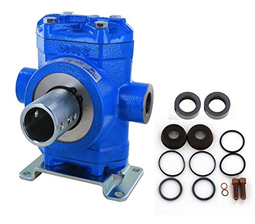 Hypro 5210C-H Piston Pump with 3430-0037special Upgraded Repair Kit (Bundle, 2 Items)