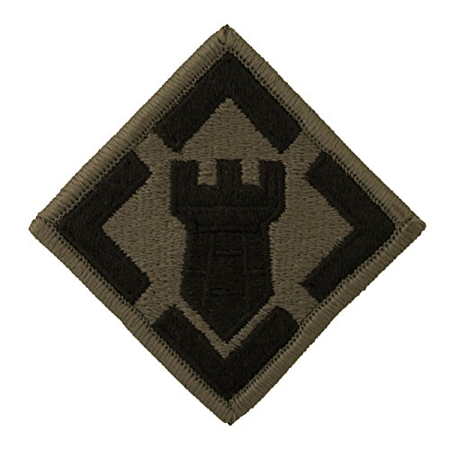 Engineer Brigade Patch - 20th Engineer Brigade MultiCam OCP Patch - Pair