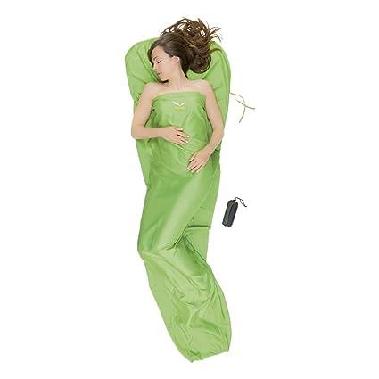SALEWA Jade Liner Silverized Saco de Dormir, Unisex, Verde (Greenwich), Talla
