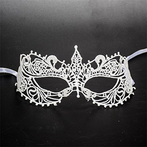 Hot Sale ! Boddenly Halloween Women Girls Lace Mask, Sexy Eye Face Mask For Masquerade Fancy Party (B) (M)