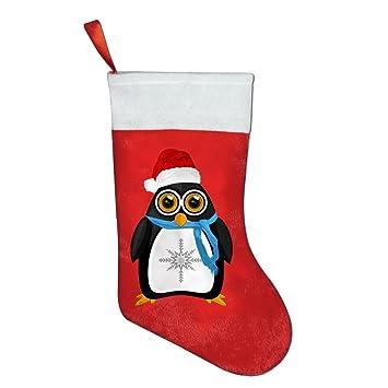 Calcetines de Navidad bolsas de regalo bolsas de regalo de Navidad pingüino decoraciones de Navidad Santa Claus calcetines regalos bolsas de dulces de ...