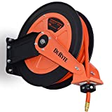 "Hose 3/8"" Air Compressor Reel Retractable 50 Ft. 300 Psi Auto Rewind Garage New Tools"