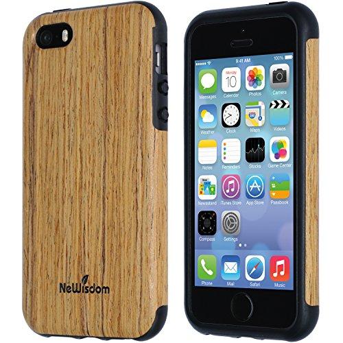 NeWisdom iPhone Suitable Unique Rosewood