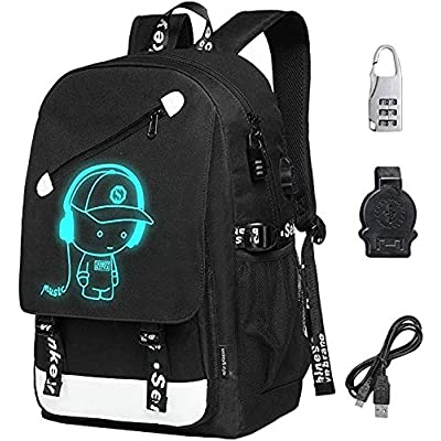 Laptop Backpack 15.6 inch, 20L Oxford Laptop Bag School Backpack Travel USB Charging Daypack | Kids' Backpacks