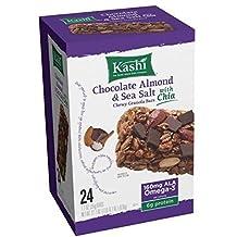 Kashi Granola Bars, Chewy, Chocolate Almond & Sea Salt with Chia 24ct. by kashi (1 box)