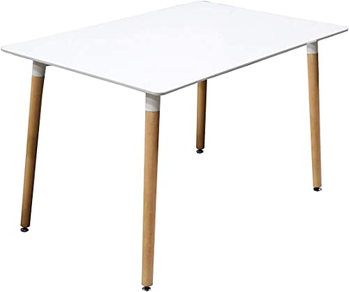 Best Master Furniture Giselle Mid-Century Dining Table Only Only