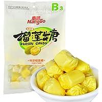 南国 特浓榴莲软质糖 450g(150g*3)(亚马逊自营商品, 由供应商配送)