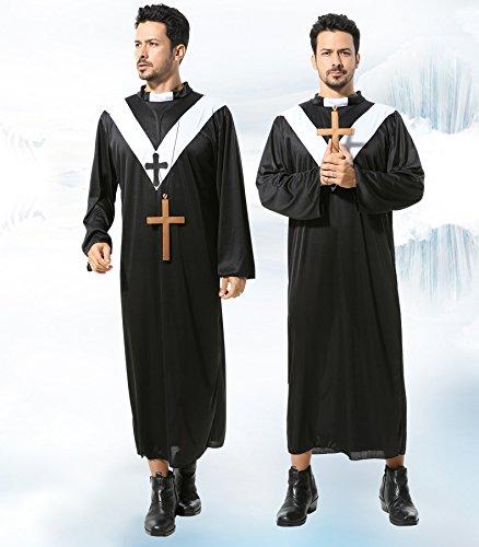 牧師  神父 修道士 なりきり ものまね モノマネ 宴会芸 余興 変装 コスプレ 仮装 ハロウィン コスチューム