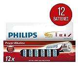 Philips Power Alkaline Battery AA 12-wide multi pack [LR6P12W/10]