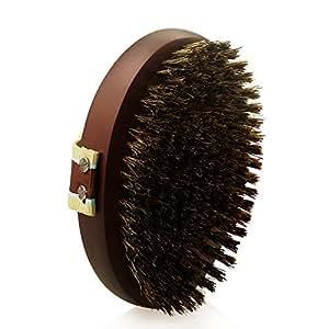 Petfamily dog grooming bristle brush for - Natural horse hair interior upholstery brush ...